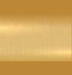 polished metallic gold texture - background vector image