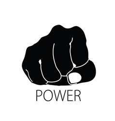 Power icon silhouette vector