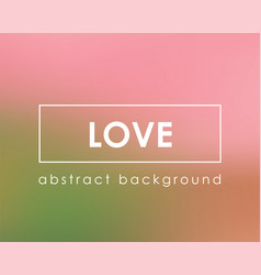 Romantic love pink background for lovers template vector