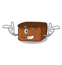 Wink brownies character cartoon style vector