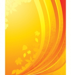 yellow back vector image