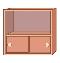 cabinet vector image vector image