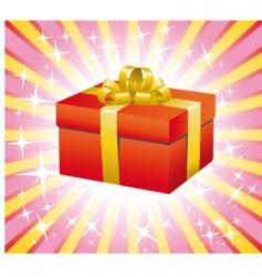 gift box illustration vector image