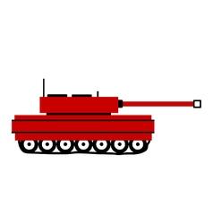 Panzer icon on white vector image