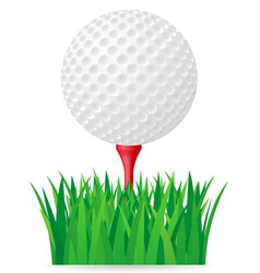 golf 02 vector image vector image