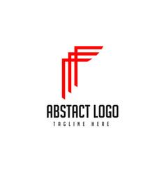 Abstract logo template design vector