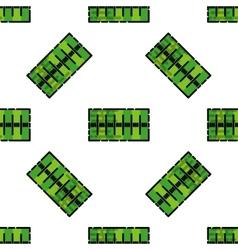 American football pattern vector image