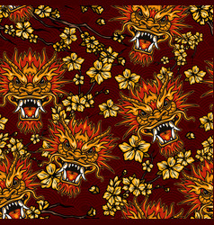 asian festive traditional seamless pattern vector image
