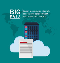 Big data cloud information document vector