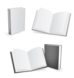 blank books vector image
