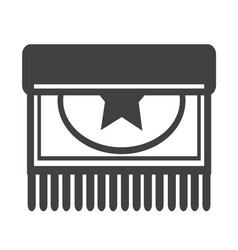 Carpet icon design vector