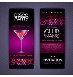 Disco Corporate identity templates vector image