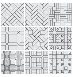 floor material tiles seamless patterns vector image