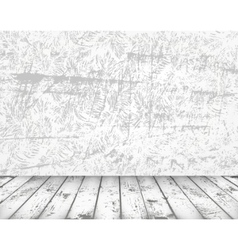 grunge vintage interior vector image vector image