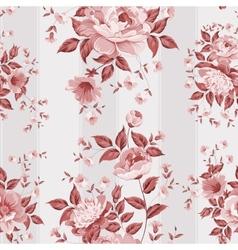 Luxurious peony wallpaper vector