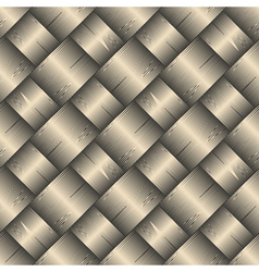 ornate diagonal basket texture vector image