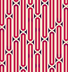 Retro red stripes seamless texture vector