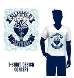 T-shirt Design Lettering vector