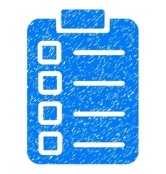 Test Task Grainy Texture Icon vector