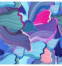 abstract pattern wave vector image vector image