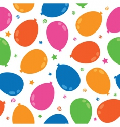 balloon pattern vector image vector image