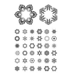 mandala round ornament se vector image