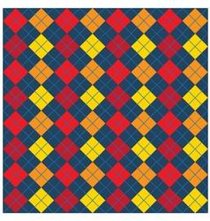 Argyle Seamless Pattern Design vector image