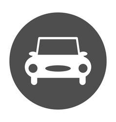 car round icon vector image