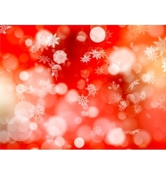 Red Christmas background EPS 10 vector image vector image