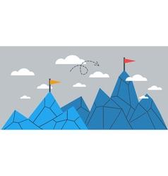 Upgrade concept achievement comparison idea vector