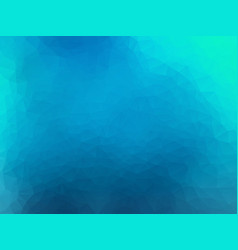 blue mosaic glass geometric background vector image