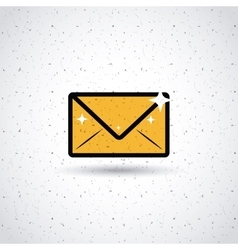 Mail icon design vector