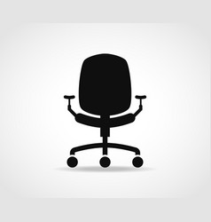 office chair icon design vector image