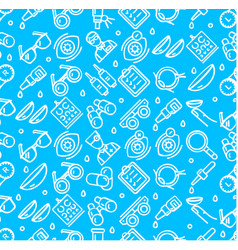 optical signs seamless pattern background vector image