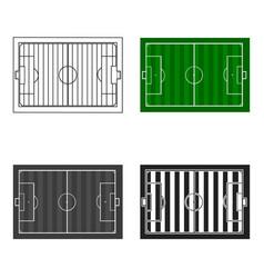 Stadium icon cartoon single sport icon from the vector