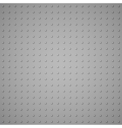 Texture from raised dots imitation metal vector