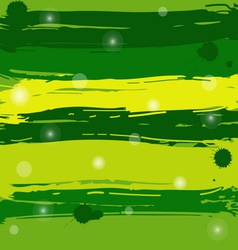 Green grunge background vector image vector image