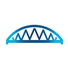 Arched Bridge vector image