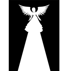 Angel Light vector image