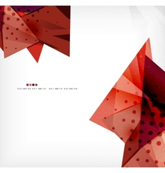 Abstract sharp angles background vector image