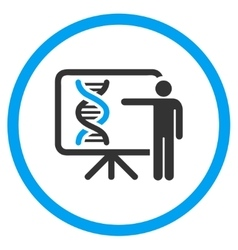 Genetics Report Icon vector image