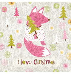 Love christmas print vector