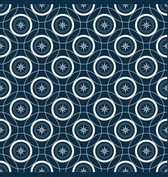 Mariner compas sseamless pattern with intersecting vector