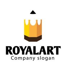 Royal art design vector