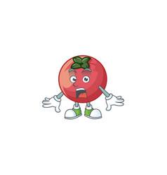 Surprised velvet apple fruit for healthy juice vector