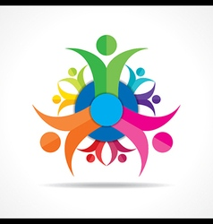 Teamwork Concept - Group of People stock vector image