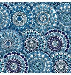 Seamless pattern texture Indian arabic turkish vector image