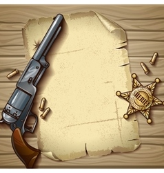 Sheriff Stars Composition vector image