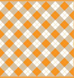 Argyle halloween seamless pattern vector