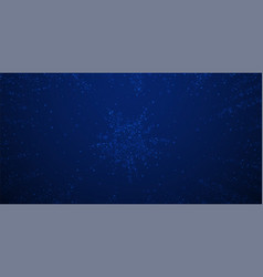 beautiful glowing snow christmas background subtl vector image